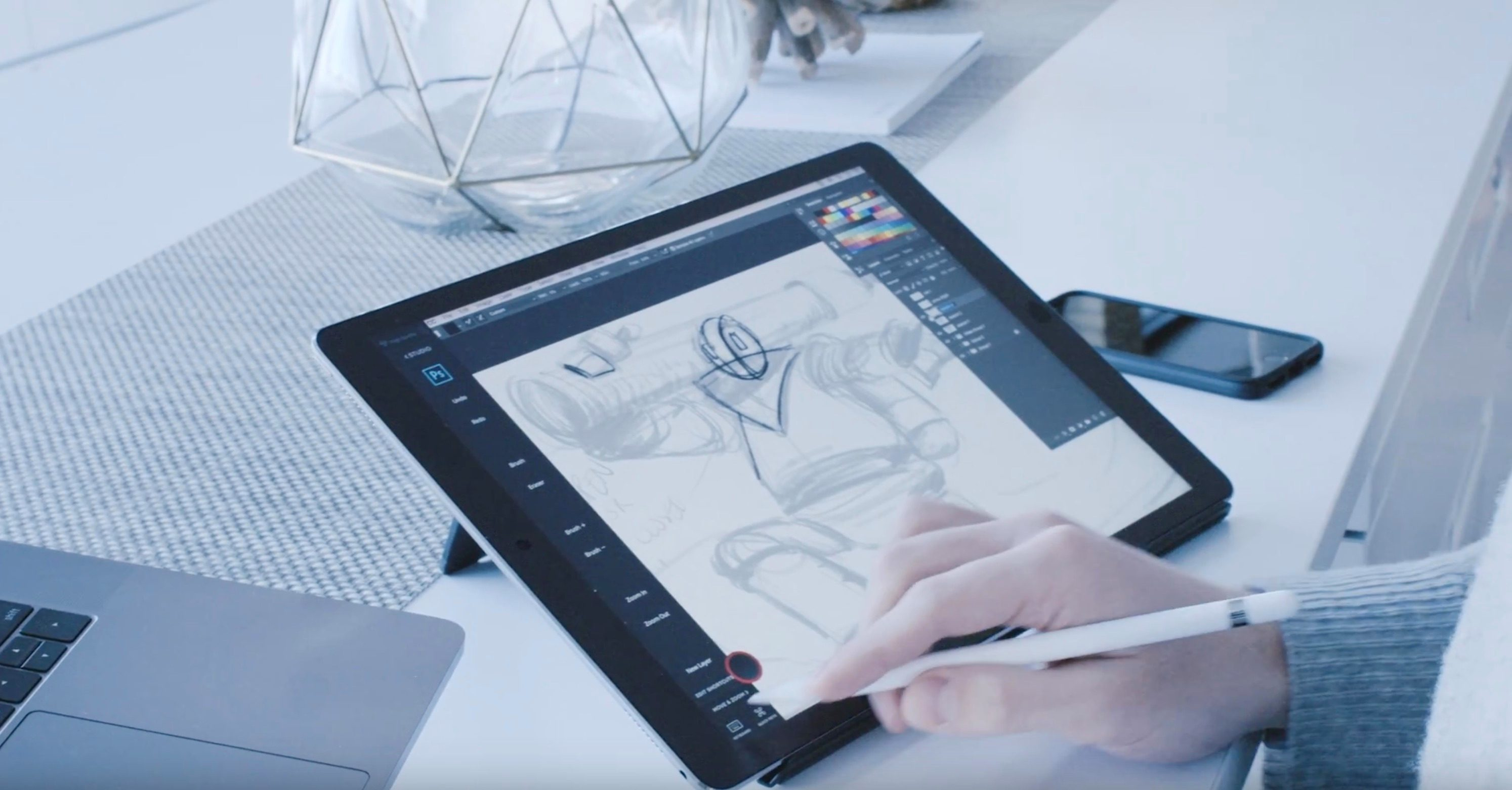 Tech okay the best ios apps for drawing with apple pencil ipad pro astro offers a span of applications for ipad pro malvernweather Choice Image