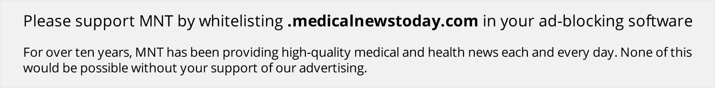 Thank we for ancillary Medical News Today