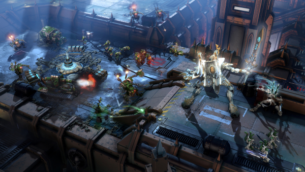 Warhammer 40,000: Dawn Of War III (PC) - few games have robots this giant