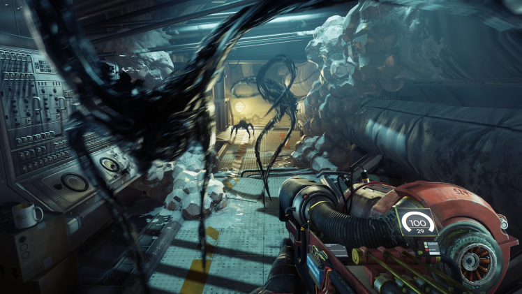 Game review: Prey aims to be BioShock in space