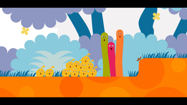 LocoRoco Remastered (PS4) - everybody looks so shocked