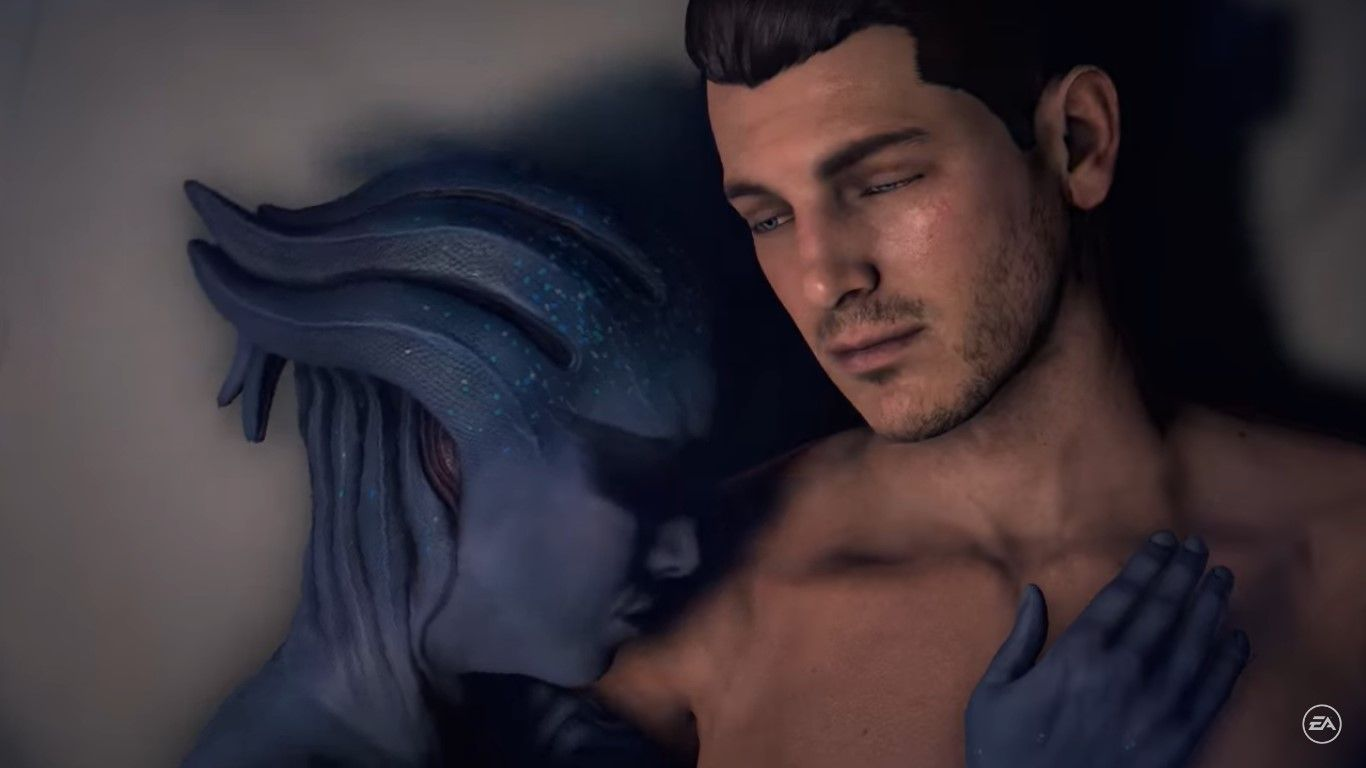Mass Effect: Andromeda - we know what bit you're many looking brazen to