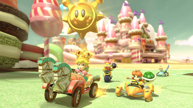 Mario Kart 8 Deluxe (NS) - Peach is about to get bruised