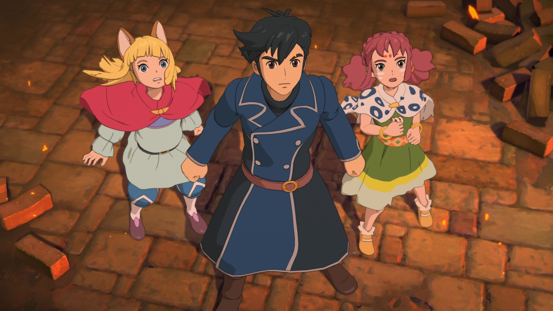 Ni No Kuni II: Revenant Kingdom - a cat-boy who would be king