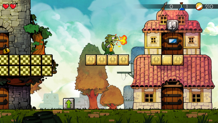 Game review: Wonder Boy: The Dragon's Trap is a illusory Master System remake