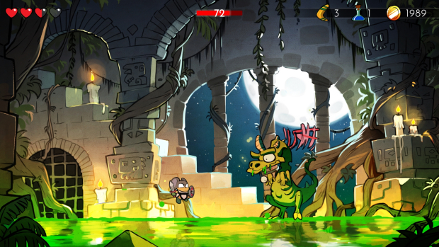 Wonder Boy: The Dragon's Trap (PS4) - that doesn't demeanour like a Master System game...