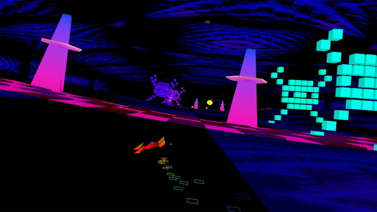 Game review: Polybius is a really trippy VR game