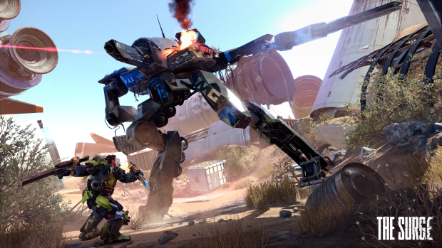 The Surge (PS4) - there are bosses yet they're not a concentration of a game